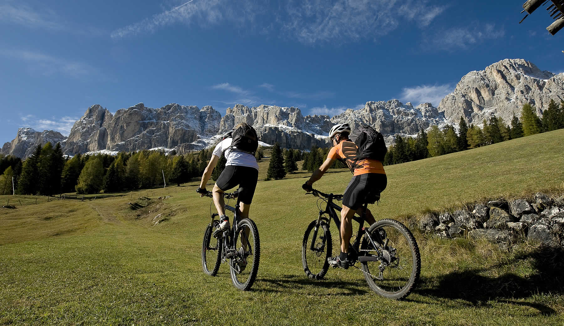 Mountain bike Gadertal